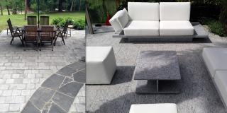 Gardens, flooring and outdoor furniture